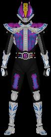 Kamen Rider Nega Den-O by Taiko554