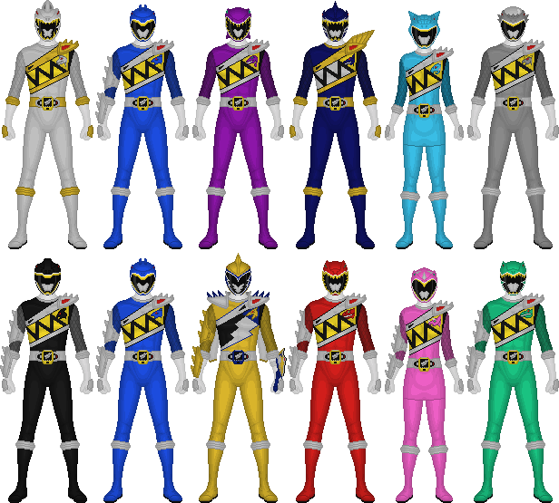 Zyuden Sentai Kyoryuger, 100 Years After by Taiko554 on ...