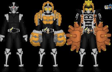 Kamen Rider Knuckle by Taiko554