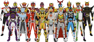 All Kamen Rider Leads, Final Form Version