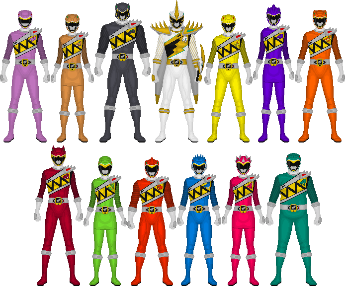 Additional Kyoryugers by Taiko554 on DeviantArt
