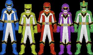 Kyousou Sentai Soudaiger, Reboot Version