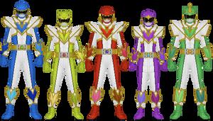 Kyousou Sentai Soudaiger, Super Leaders