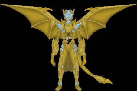 Kamen Rider Wizard, Infinity Gold Dragon by Taiko554