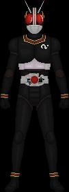 Kamen Rider Black by Taiko554