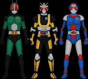 Kamen Rider Black RX by Taiko554 on DeviantArt