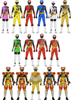 Shuriken Sentai Ninninger by Taiko554