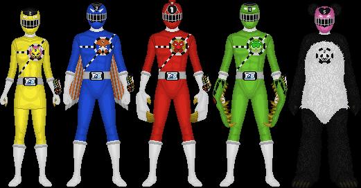 Ressha Sentai Toqger, Safari Change by Taiko554