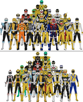 Super Sentai and PR by Taiko554 on DeviantArt