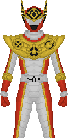 Giant Saver: Space Deleter, Super Red by Taiko554