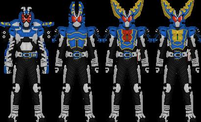 Kamen Rider Gatack by Taiko554