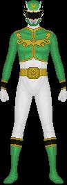 Tensou Sentai Goseiger, Gosei Green by Taiko554