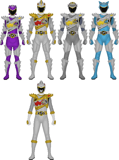 how to draw power rangers dino super charge