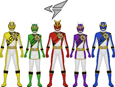 Touhyou Sentai Gunshuuger by Taiko554 on DeviantArt