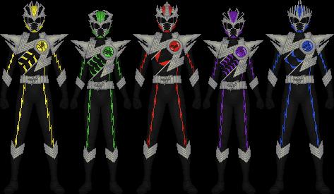 Bousei Sentai Kachuuger by Taiko554