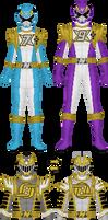Nenshou Sentai Engineman, Extra Rangers