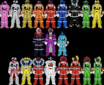 Uchu Sentai Kyuranger by Taiko554