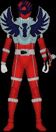 Uchu Sentai Kyuranger, Pegasus Shishi Red by Taiko554