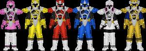 Power Rangers Ninja Steel, Ninja Master Mode