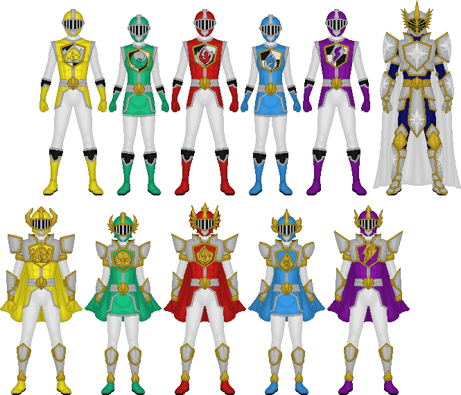 Shinka Sentai Crusager by Taiko554 on DeviantArt