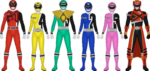 Power Rangers SPD, Soul of the Dragon by Taiko554