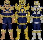 Meiro Sentai Shouriger, Command Echelon