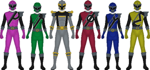 Meiro Sentai Shouriger, Movie Rangers