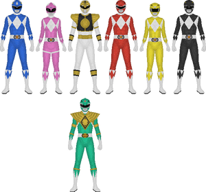 Mighty Morphin' Power Rangers, Metallic Armor