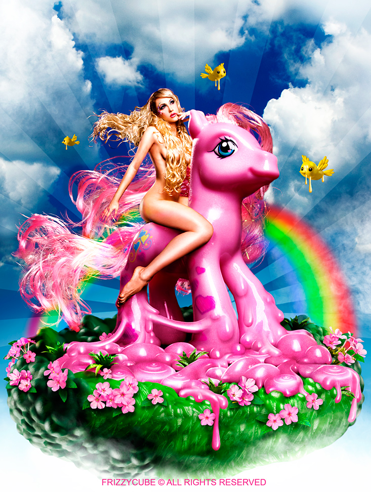 Pink Plastic Orgasm by FrizzyCubePhotos