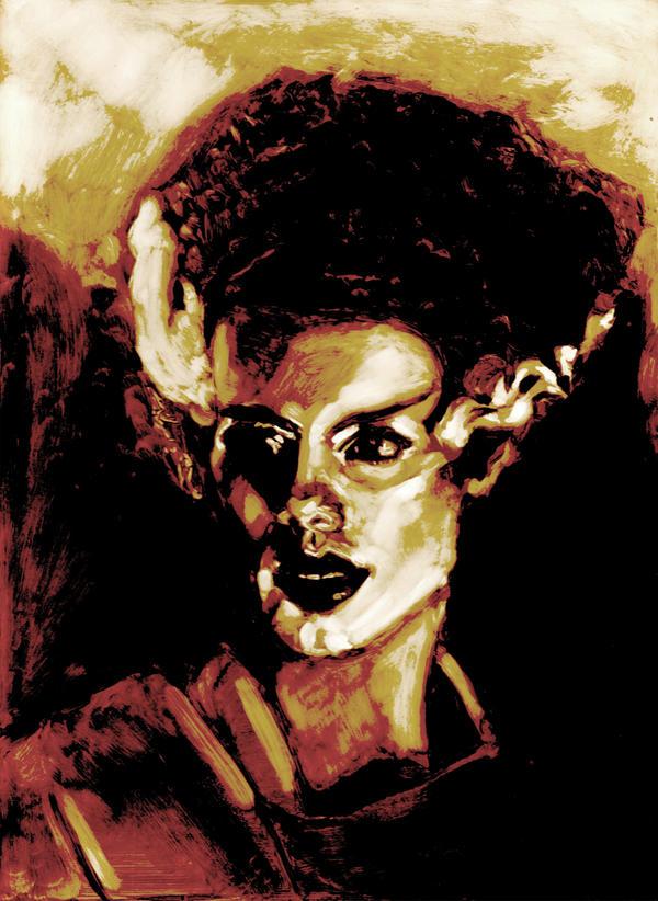 The Bride of Frankenstein by bloodedemon