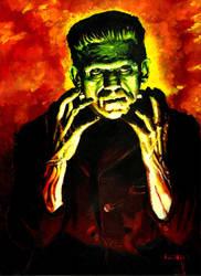 Color Karloff by bloodedemon