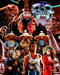 Big trouble in Little china by bloodedemon