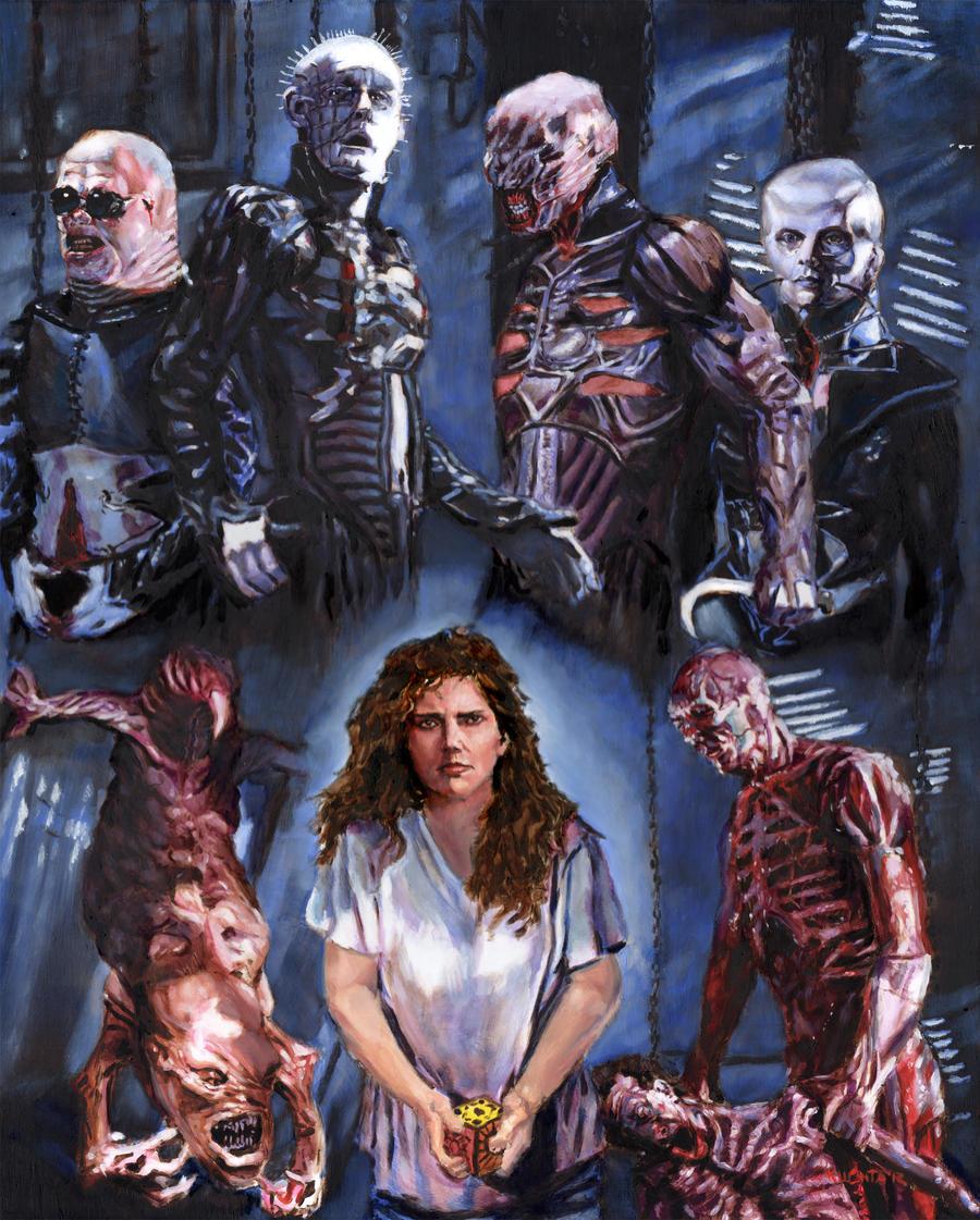 HELLRAISER (Fan Art)   Hellraiser, Horror movie fan, B movie  Hellraiser Deviantart