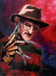 The nightmare on elm street by bloodedemon