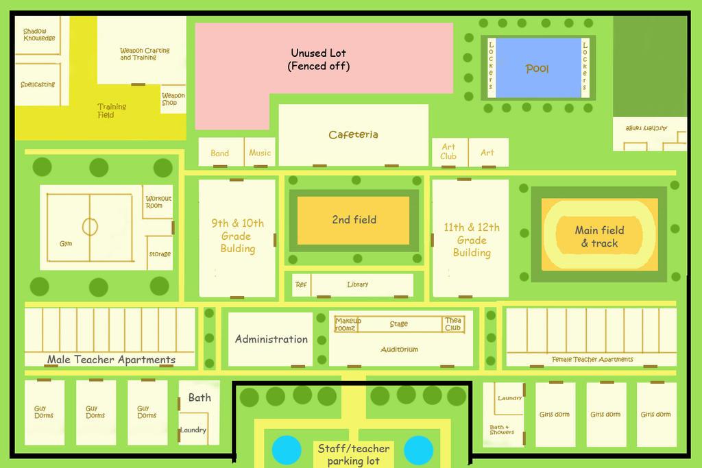 Persona Academy Map 2 by Me chan desu on DeviantArt