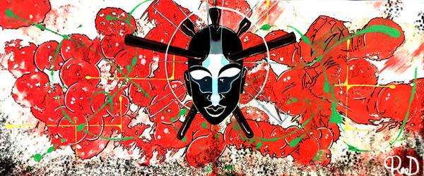 Zulu Mask 2