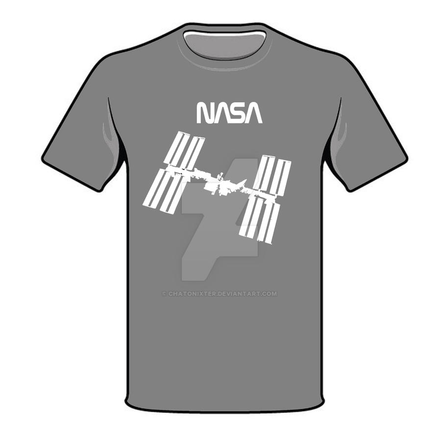 Nasa T-shirt by chatonixter