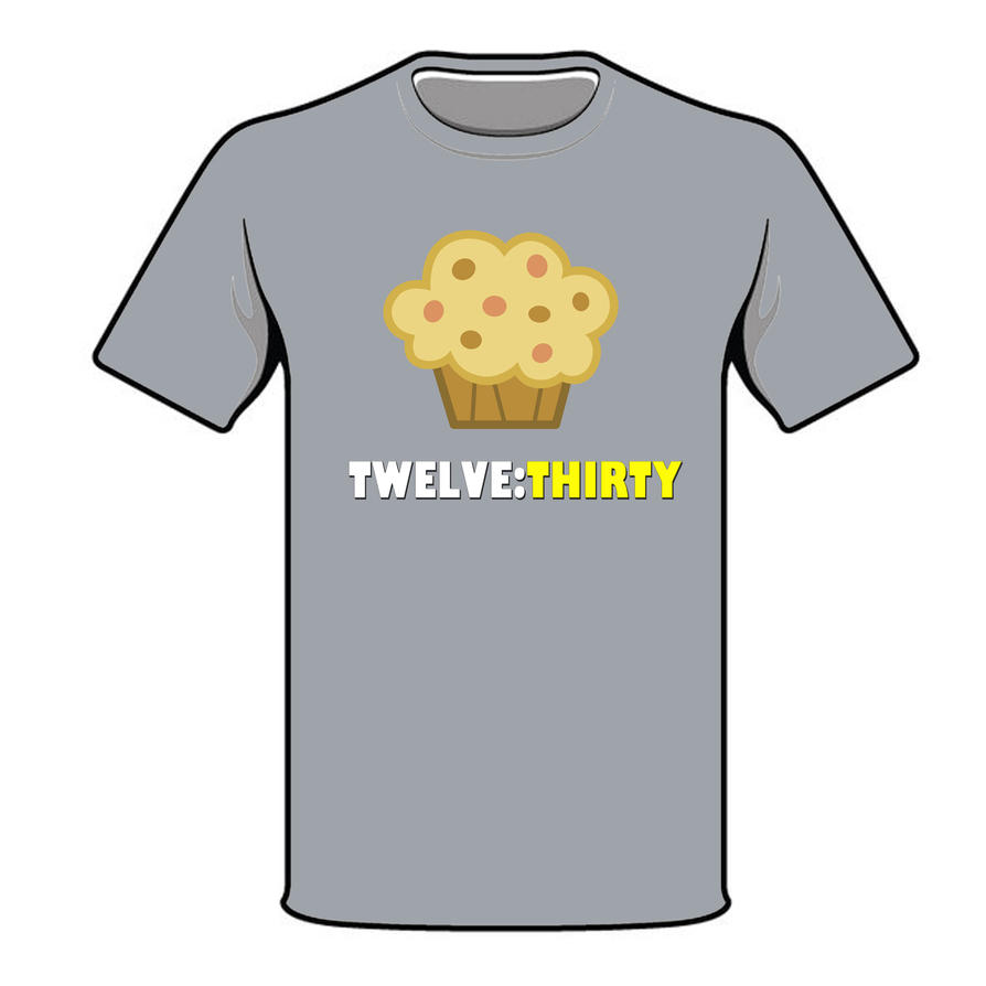 Derpy cupcake T-shirt by chatonixter