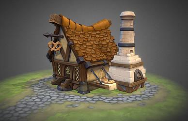 Siege. Bakery