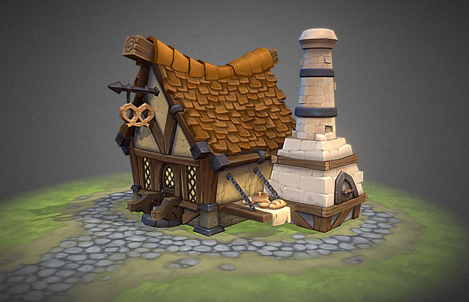 Siege. Bakery by ricedeviantart