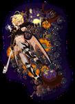 Halloween Extermination +Speedpaint by Rina-ran