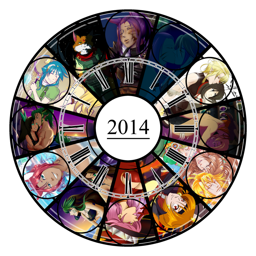 2014 Art Summary by Rina-ran