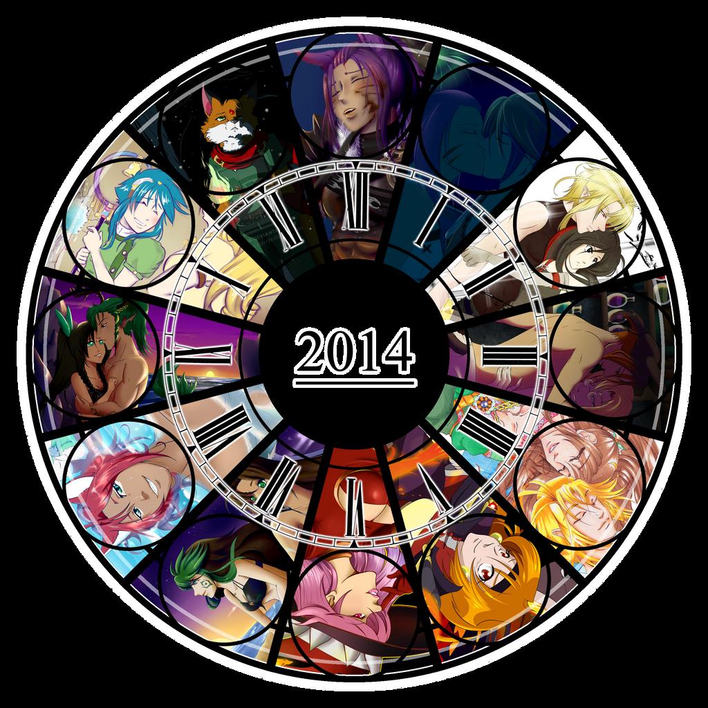 2014 Art Summary by Rina-ran