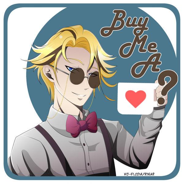 Buy Me a Coffee by Rina-ran