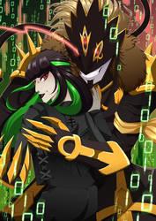 Naomi and Beelzemon