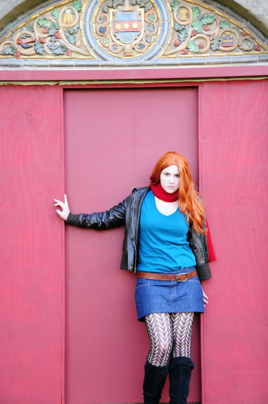Amy Pond - Off on an Adventure by moonflower-lights