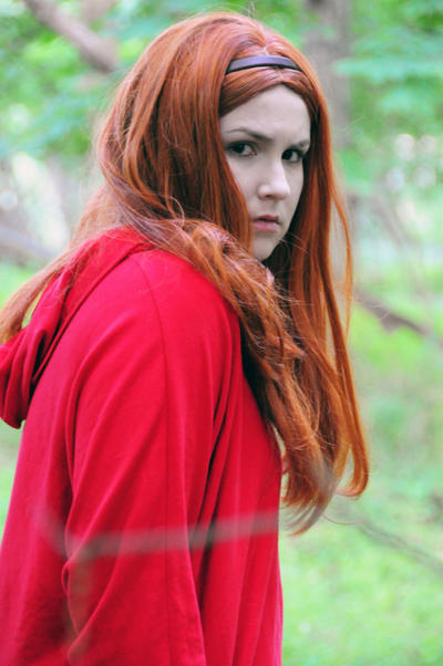 Amy Pond - Concerned... by moonflower-lights