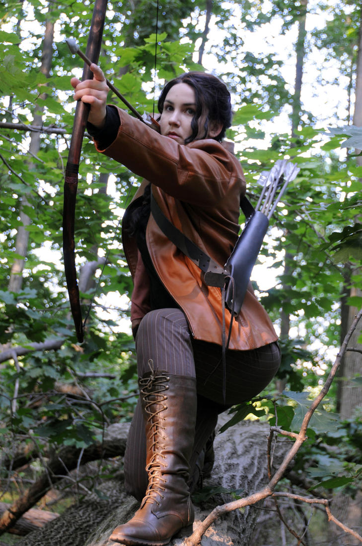 katniss everdeen by moonflower lights on katniss everdeen by moonflower lights