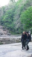 Katniss Everdeen and Peeta Mellark