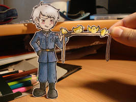 Prussia -  paper Child by Annuhka